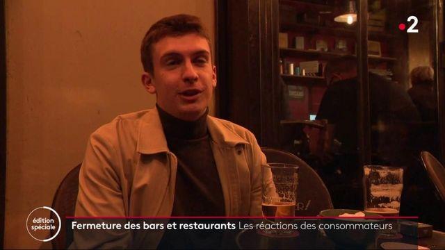 Reconfinement : les consommateurs parisiens réagissent à la fermeture des bars et restaurants