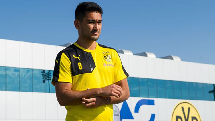 Le joueur du Borussia Dortmund, Ilkay Gundogan