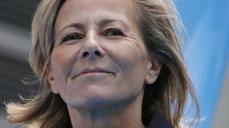 Claire Chazal à la défense en juin 2015  (Patrick Kovarik / AFP)