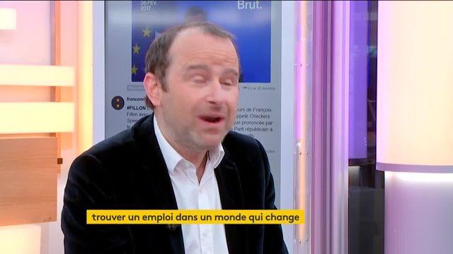 """À l'occasion de l'opération """"O21, S'orienter au 21ème siècle"""", Emmanuel Davidenkoff, rédacteur en chef Le Monde Campus, était l'invité de Jean-Paul Chapel dans « :L'éco » mardi 7 février."""