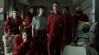 Les acteurs de la série Casa Del Papel  (Netflix)