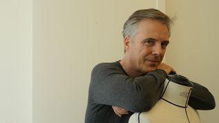 Olivier Lapidus, nouveau directeur artistique de Lanvin, en juillet 2017  (Corinne Jeammet)