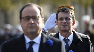 Manuel Valls, le 11 novembre 2015 à Paris. (ERIC FEFERBERG / AFP)
