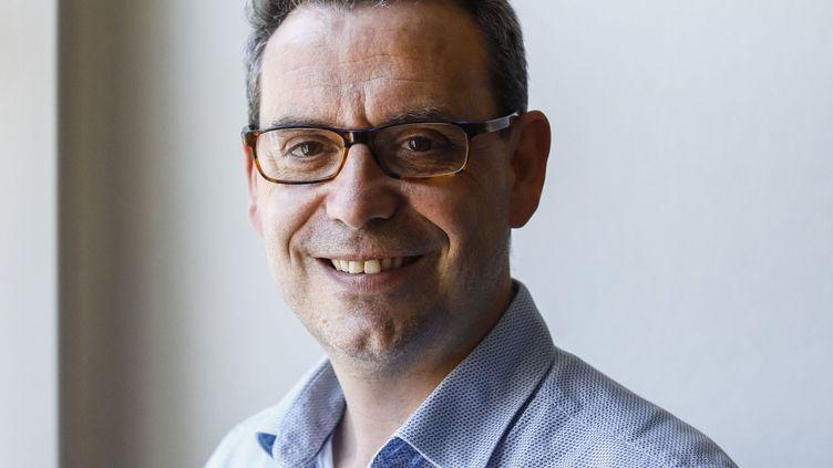Philippe Rio, maire de Grigny, le 23 juin 2020. (OLIVIER CORSAN / MAXPPP)