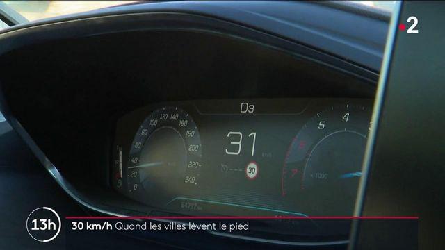 Sécurité routière :désormais, il faut rouler à 30km/hàMontpellier