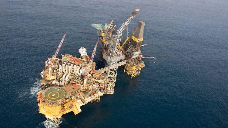 La plateforme Total du gisement de gaz naturel d'Elgin, en mer du Nord. (TOTAL E&P UK / MAXPPP)
