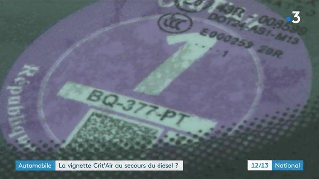 Automobile : la vignette Crit'Air au secours du diesel ?