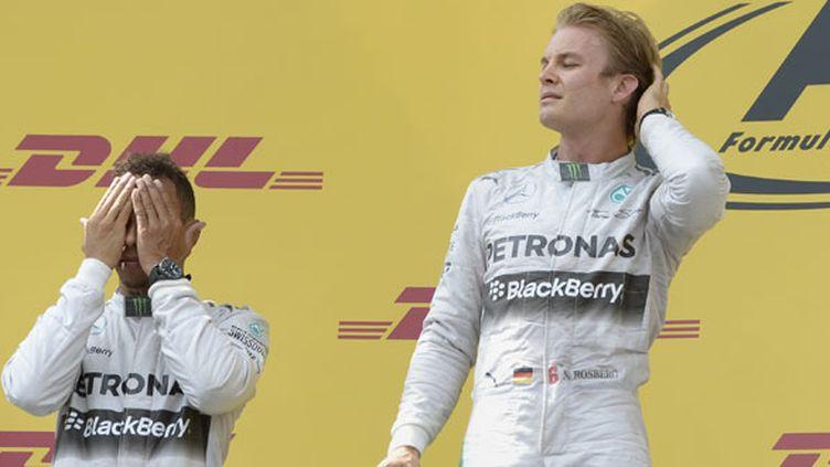 Le duel entre les deux pilotes Mercedes Nico Rosberg et Lewis Hamilton devrait continuer en Allemagne