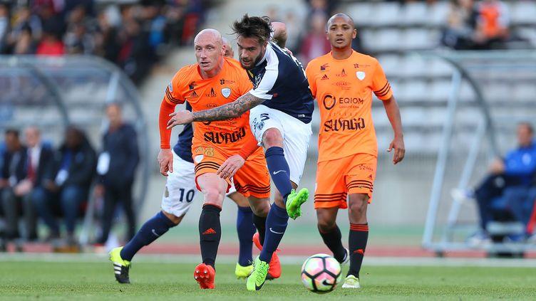 Le Paris FC contre Créteil.  (ANTHONY MASSARDI / MAXPPP)