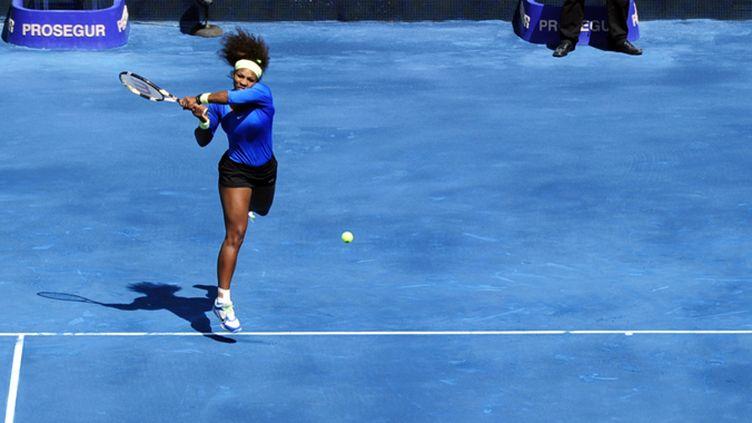 Serena Williams à l'attaque