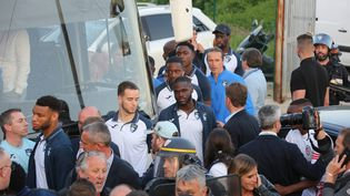 Alain Orsoni a voulu également rassurer les supporters du Havre qui feraient le déplacement, malgré l'appel du président havrais qui demande aux fans de ne pas se rendre en Corse (JEAN-PIERRE BELZIT / MAXPPP)