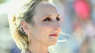 La comédienne Audrey Lamy lors du Festival de la fiction à La Rochelle (Charente-Maritime) le 17 septembre 2021 (FRANCK CASTEL / MAXPPP)