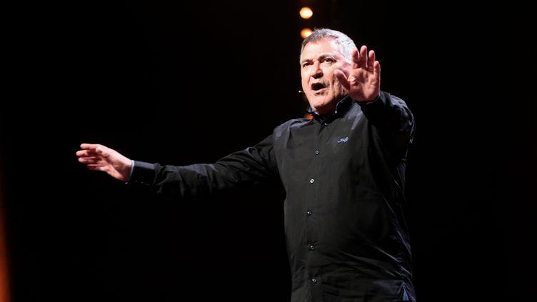 L'humoriste Jean-Marie Bigard sur scène à Marseille le 28 mai 2019. (VALLAURI NICOLAS / MAXPPP)