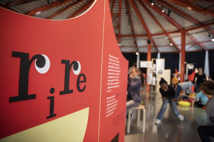 L'expositionRire : la science aux éclatsest au musée de l'Homme jusqu'au 2 août 2021 (PIERRE GRASSET)