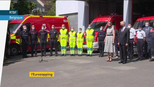 Eurozapping : hommage aux victimes de l'invasion turque à Chypre et des inondations en Belgique