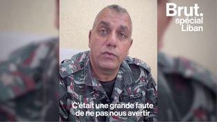VIDEO. À Beyrouth, ce pompier veut la vérité un an après l'explosion (BRUT)
