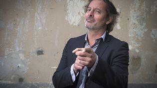 L'humoriste Christophe Alévêque, en mai 2015, à Paris. (JOEL SAGET / AFP)