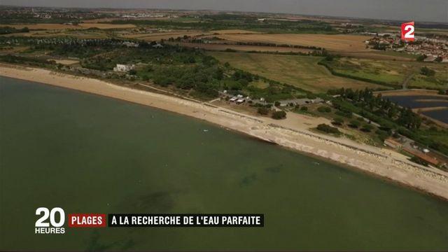 Qualité des eaux : 37 plages françaises dans le rouge