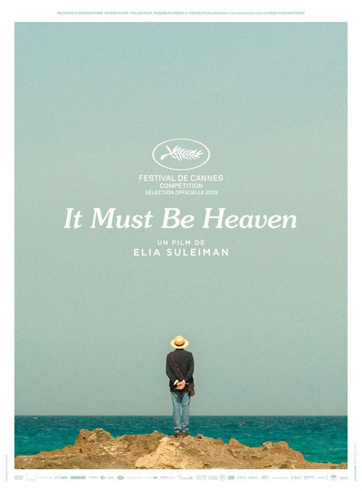 """L'affiche de """"It Must Be Heaven"""" d'Elia Suleiman (Le Pacte)"""