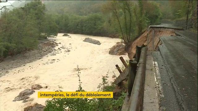 Alpes-Maritimes : le chantier monstre du déblaiement a débuté