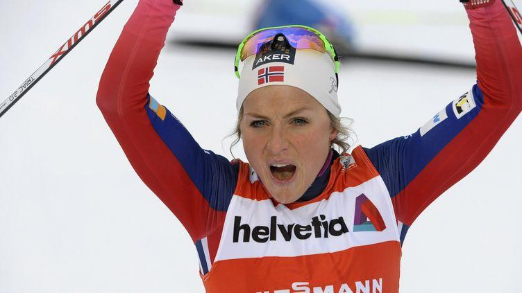 Therese Johaug est repartie sur les même bases que la saison passée  (MARTTI KAINULAINEN / LEHTIKUVA)