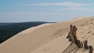 L'urne a été retrouvée à Noël, dans les sables de la dune du Pilat (Gironde). (  MAXPPP)