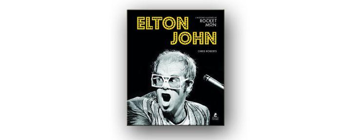 """La couverture de """"Elton John, l'histoire illustrée de Rocket Man"""". (EDITIONS PLACE DES VICTOIRES)"""