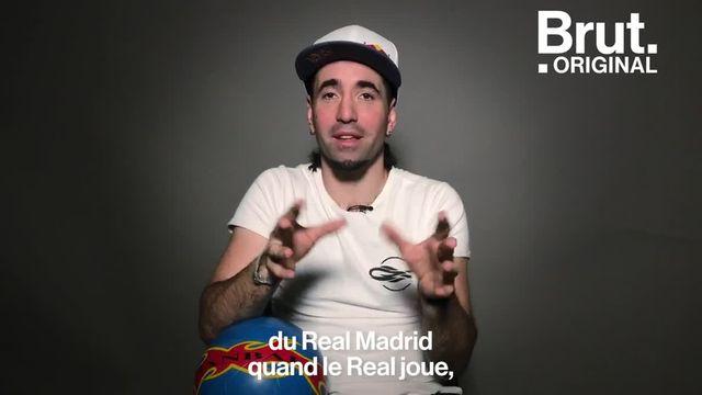 Pour Séan Garnier, le vrai football n'est pas celui qui est joué dans les stades.