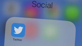 Une panne a touché Twitter pendantplusieurs heures, le 2 octobre 2019. (ALASTAIR PIKE / AFP)