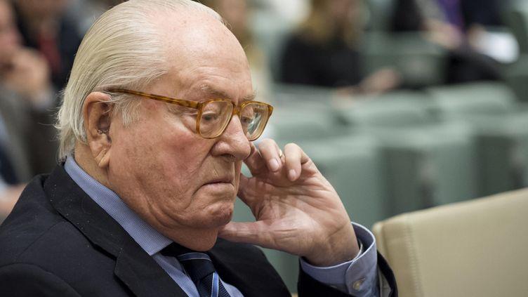 Jean-Marie Le Pen. (JOHN THYS / AFP)
