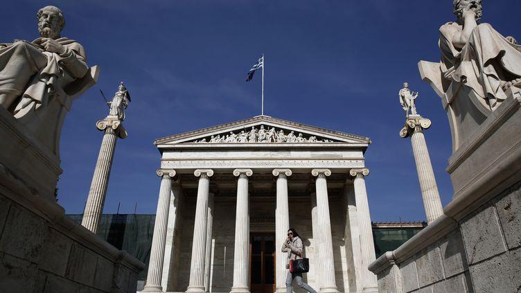 La Grèce a levé 3 milliards d'euros sur les marchés, jeudi 10 avril 2014. (YORGOS KARAHALIS / REUTERS)