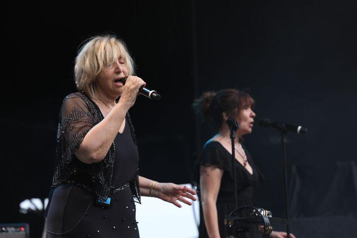 Stella Vander sur la scène de Fourvière le 2 juillet (Jean-François Convert)