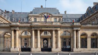 Le Conseil d'Etat à Paris, le 13 avril 2020. (CARINE SCHMITT / HANS LUCAS)