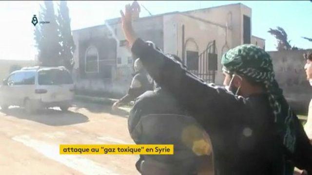 Syrie : la population de la région d'Idleb visée par une attaque chimique