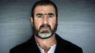 L'ancien joueur de football et acteur Eric Cantona à Paris le 12 novembre 2014. (STEPHANE DE SAKUTIN / AFP)