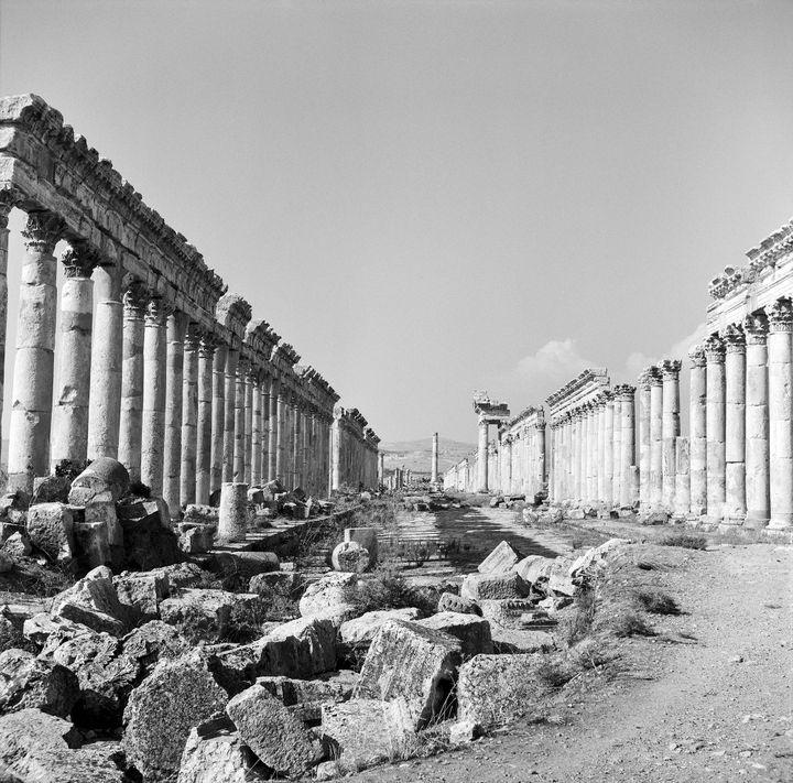"""Grande colonnade"" de Palmyre en 2002 (Michel Eisenlohr)"