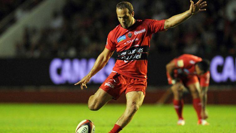 Frederic Michalak (RC Toulon) (BORIS HORVAT / AFP)