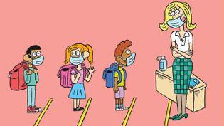 Retour à l'école, sommeil et peur du masque (ASTRAPI / BAYARD PRESSE)