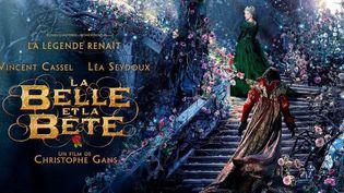 """L'affiche de """"La Belle et la bête"""" de Christophe Gans  (Pathé Distribution)"""