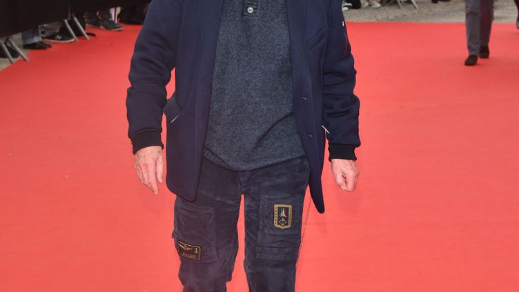 Claude Lelouch lors de la cérémonie de cloture du 11e Festival International du Film Policier de Beaune, 5 avril 2019 (JACQUES BENAROCH/SIPA)