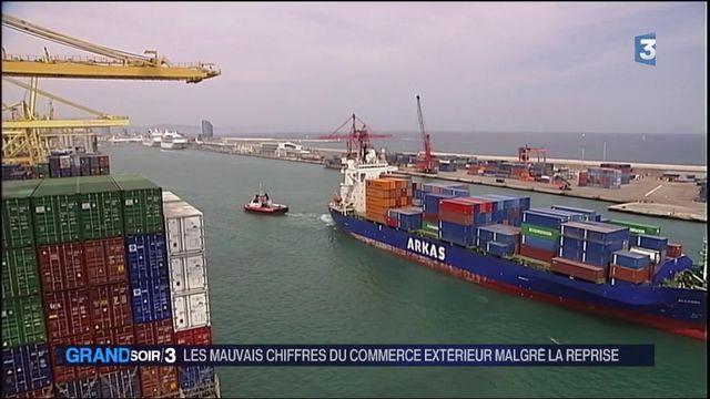 Commerce extérieur : la France dans le rouge
