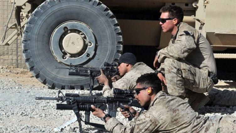 Marines américains en Afghanistan (18-12-2010) (AFP - Massoud HOSSAINI)