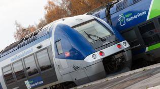 Un TER à la gare d'Abbeville (Somme), le 30 novembre 2019. (AMAURY CORNU / HANS LUCAS / AFP)