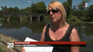 Valérie Delugin s'exprime dans un reportage diffusé sur France 2 le 12 juillet 2018. (FRANCE 2)