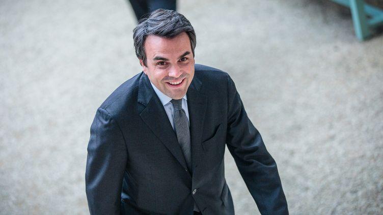 Le député de la Saône-et-Loire Thomas Thévenoud à l'Assemblée nationale, à Paris, le 29 mars 2016. (MAXPPP)
