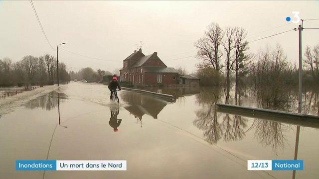 Nord : les inondations ont entraîné la mort d'un homme