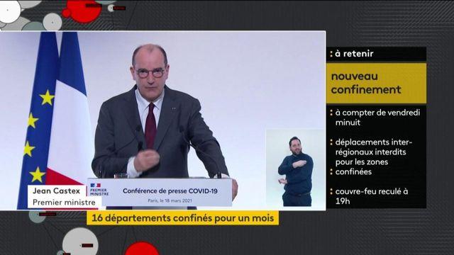 """""""Aucun risque"""" présenté par le vaccin AstraZeneca assure Jean Castex"""