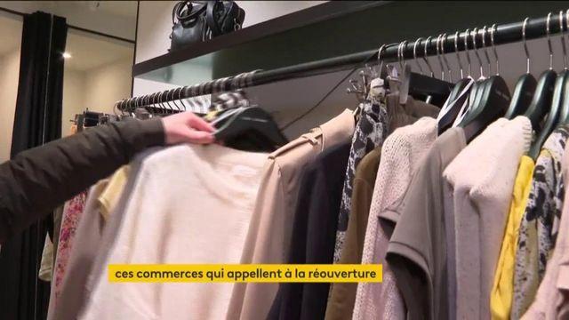Crise sanitaire : des commerces demandent la réouverture avant la mi-mai