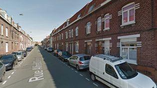 Les faits se sont produits dans un appartement de la rue Alfred-Delecourt à Wattrelos (Nord). (GOOGLE STREET VIEW)
