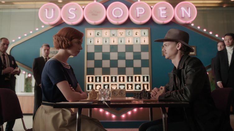 Le Jeu de la Dameest dans le top 3 sur Netflix en France depuis sa sortie le 23 octobre. (NETFLIX)